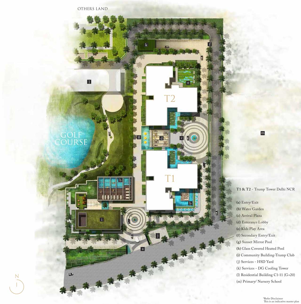 Trump Tower Gurgaon Master Plan