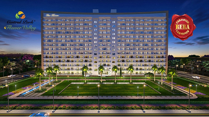 Central Park Flower Valley The Room Studio Apartments Sector 32-33 South of Gurgaon, Gurugram