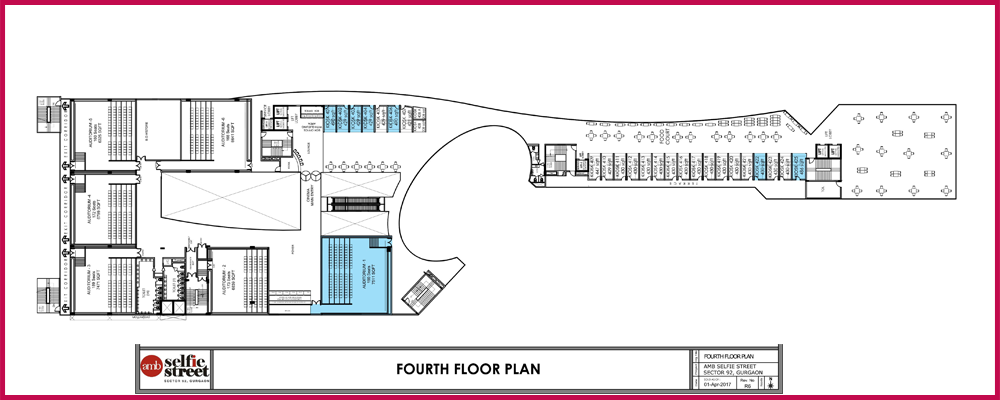 AMB Selfie Street Fourth floor Plan